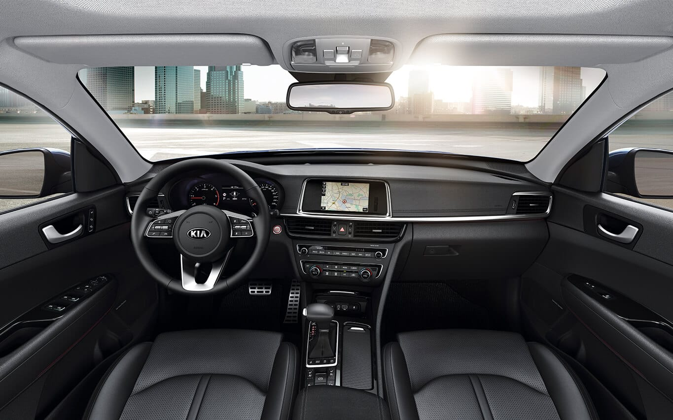 Kia Optima Sportswagon Interieur