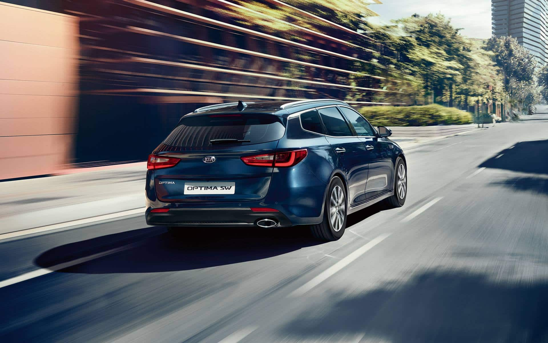 Kia Optima Sportswagon Design